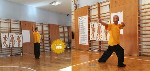 12-teilige Form- Daoyinyangshen Gong